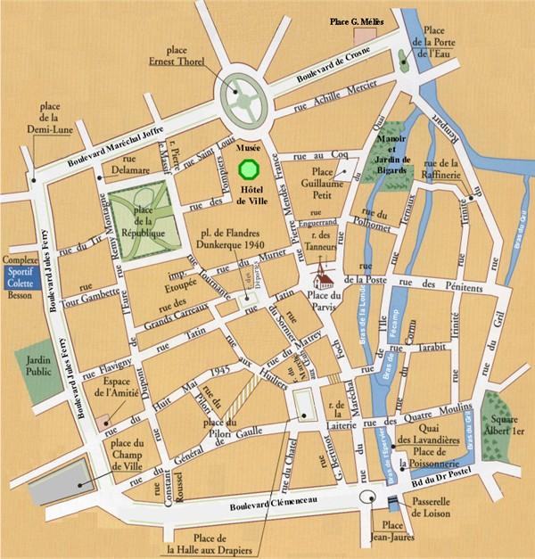 Plan for Piscine de louviers